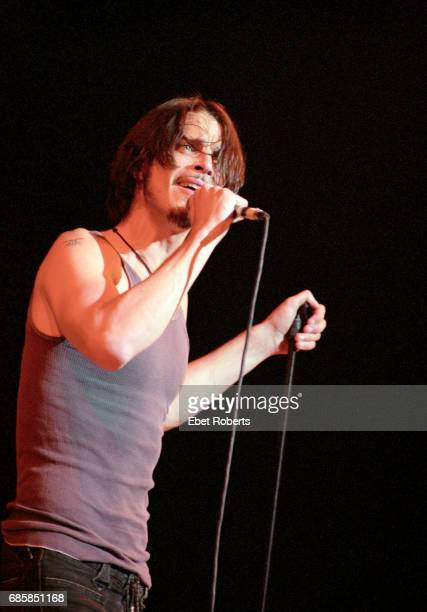 Chris Cornell performing at The Town Hall in New York City on September 14 1999