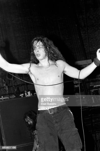 Chris Cornell performing with Soundgarden at The Ritz in New York City on January 19 1990