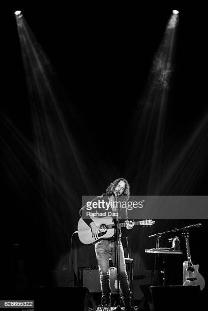 Chris Cornell performs at Teatro Bradesco on December 8 2016 in Rio de Janeiro Brazil