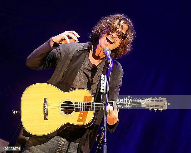 Chris Cornell performs in concert at ACL Live on November 2 2015 in Austin Texas