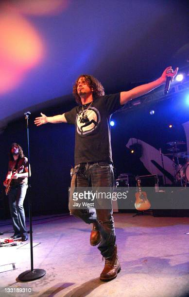 Chris Cornell performs in concert at Stubb's BBQ on March 30 2009 in Austin Texas