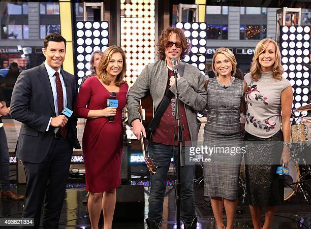 AMERICA Chris Cornell performs live on 'Good Morning America' 10/22/15 airing on the ABC Television Network