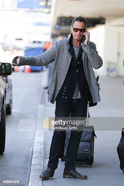 Chris Cornell seen at LAX on April 08 2015 in Los Angeles California
