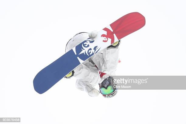 Chris Corning of the United States competes during the Men's Big Air Final on day 15 of the PyeongChang 2018 Winter Olympic Games at Alpensia Ski...