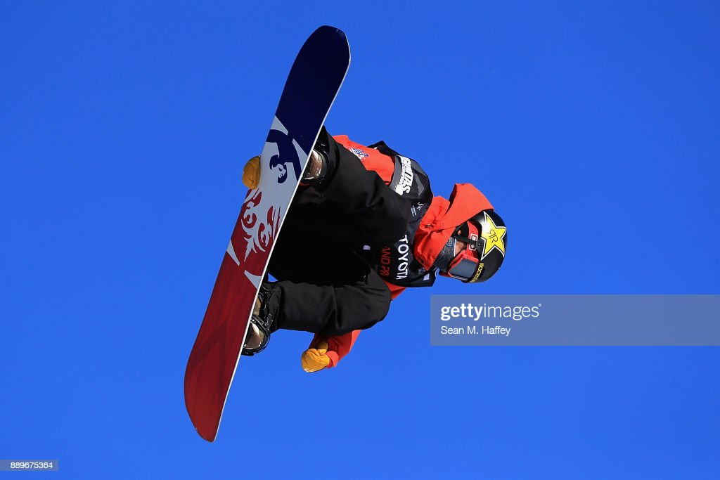 Chris Corning of the United States competes in the final of the FIS Snowboard World Cup 2018 Men's Big Air during the Toyota U.S. Grand Prix on December 10, 2017 in Copper Mountain, Colorado. Corning finished in second place.