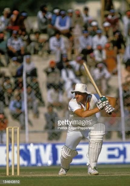 Chris Cowdrey, India v England, 2nd Test, Delhi, Dec 84.