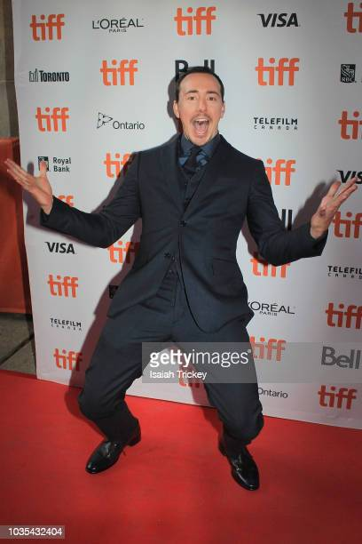 Chris Coy attends 'The Front Runner' premiere at Ryerson Theatre on September 8 2018 in Toronto Canada