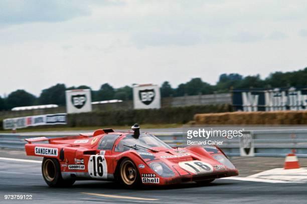 Chris Craft David Weir Ferrari 512M 24 Hours of Le Mans Le Mans 13 June 1971