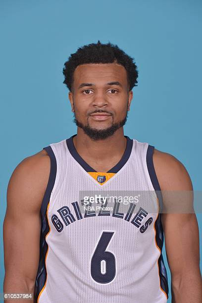 Chris Crawford of the Memphis Grizzlies poses for a head shot during the 20162017 Memphis Grizzlies Media Day on September 26 2016 at FedExForum in...