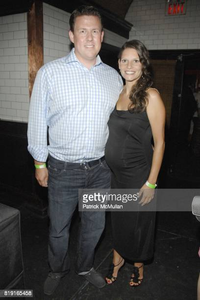 Chris Cuesta and Marisol Cuesta attend Nic Roldan Shamin Abas and Tracy Mourning Host Hamptons Social Series Dinner For St Jude's at Lily Pond on...