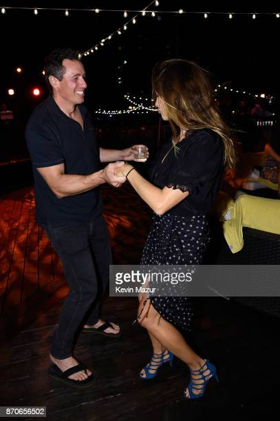 Chris Cuomo and Cristina Cuomo attend the weekend opening of The NEW ultraluxury Cove Resort at Atlantis Paradise Island on November 3 2017 in The...