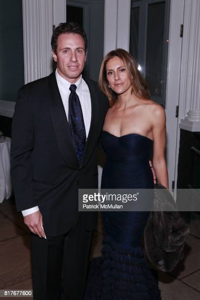 Chris Cuomo and Cristina Cuomo attend THE WINTER WONDERLAND BALL at The New York Botanical Garden on December 10 2010 in New York City