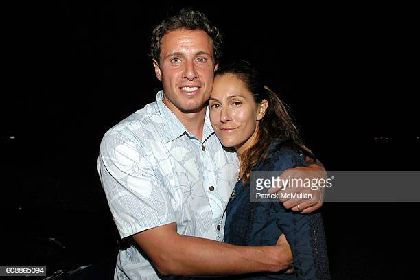 Chris Cuomo and Cristina Greeven Cuomo attend Screening of Universal Pictures THE KINGDOM, Dinner Hosted By JEFF & CARYN ZUCKER at Savanna's on...