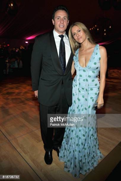 Chris Cuomo and Cristina Greeven Cuomo attend THE CONSERVATORY BALL at The New York Botanical Garden on June 3, 2010 in New York City.