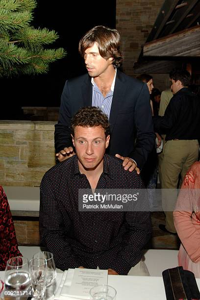 Chris Cuomo and Nacho Figueras attend GUCCI Cristina Chris Cuomo and Stephanie and David Wolkoff's Midsummer Night's Dinner at The Ross School on...