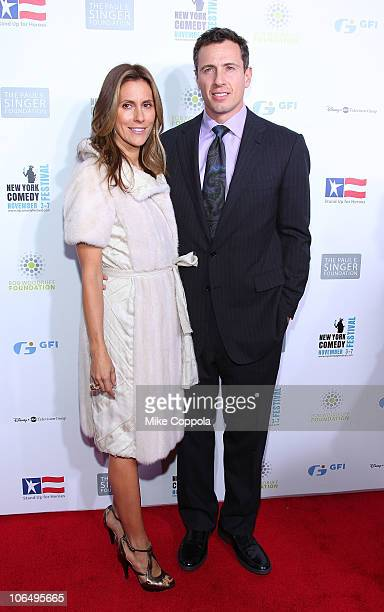 Chris Cuomo and wife Cristina Greeven Cuomo Chris Cuomo attend Stand Up For Heros presented by the New York Comedy Festival and the Bob Woodruff...
