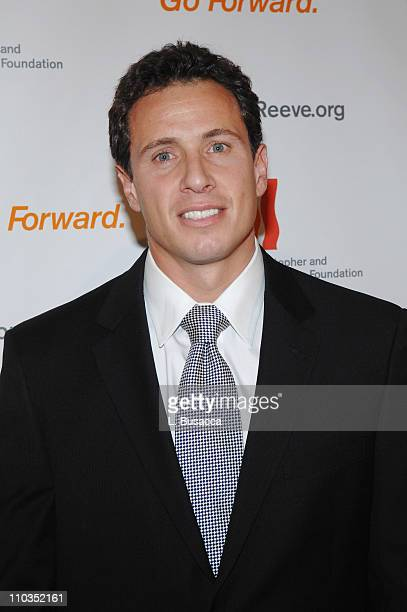 """Chris Cuomo attends """"A Magical Evening"""" hosted by The Christopher and Dana Reeve Foundation at The Marriott Marquis on November 12, 2007 in New York..."""