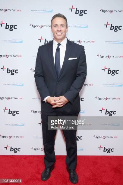 Chris Cuomo attends Annual Charity Day hosted by Cantor Fitzgerald BGC and GFI at BGC Partners INC on September 11 2018 in New York City