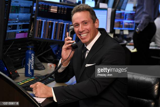 Chris Cuomo attends the Annual Charity Day hosted by Cantor Fitzgerald BGC and GFI at Cantor Fitzgerald on September 11 2018 in New York City