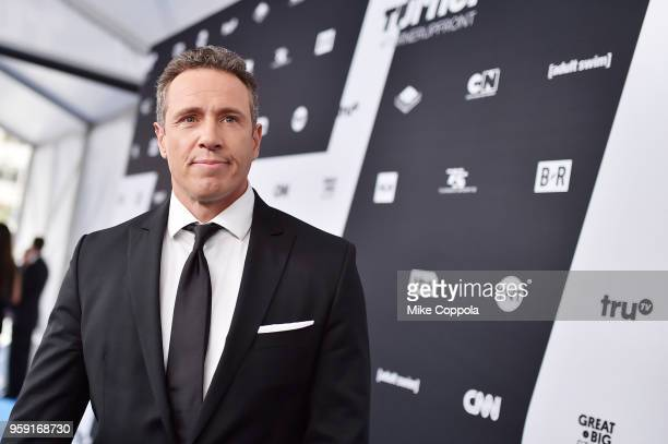 Chris Cuomo attends the Turner Upfront 2018 arrivals on the red carpet at The Theater at Madison Square Garden on May 16 2018 in New York City 376296