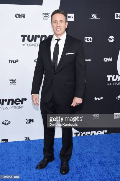 Chris Cuomo attends the Turner Upfront 2018 arrivals on the red carpet at The Theater at Madison Square Garden on May 16 2018 in New York City 376263