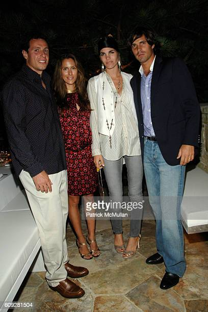 Chris Cuomo Cristina Cuomo Delfina Figueras and Nacho Figueras attend GUCCI Cristina Chris Cuomo and Stephanie and David Wolkoff's Midsummer Night's...