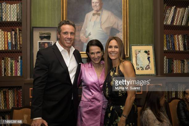 Chris Cuomo, Cynthia Rowley and Cristina Cuomo attend the Plant Miami Rudd Wines dinner at the James Beard House on September 18, 2019 in New York...
