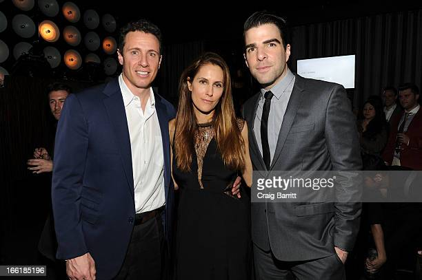 Chris Cuomo Manhattan Magazine Editor In Chief Cristina Cuomo and Zachary Quinto attend Manhattan Magazine Men's Issue party hosted By Zach Quinto on...