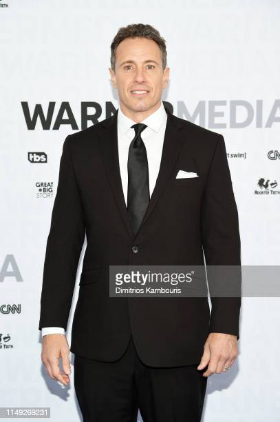 Chris Cuomo of CNN's Cuomo Prime Time attends the WarnerMedia Upfront 2019 arrivals on the red carpet at The Theater at Madison Square Garden on May...