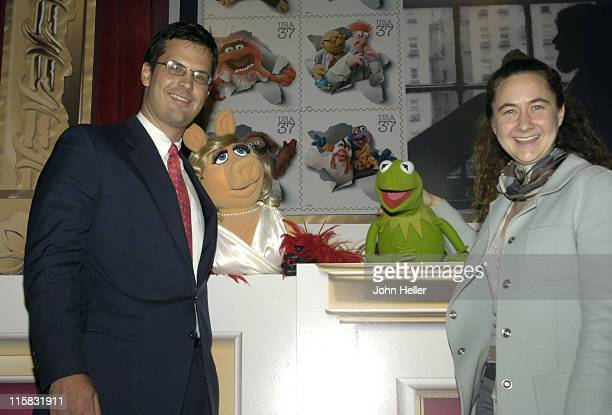 Chris Curtin General Manager and Vice President the Muppets Holding Company Miss Piggy Kermit the Frog and Heather Henson