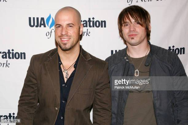 Chris Daughtry and Guest attend UJA-FEDERATION OF NEW YORK honor BARRY WEISS with The Music Visionary of the Year Award at The Pierre on June 18,...