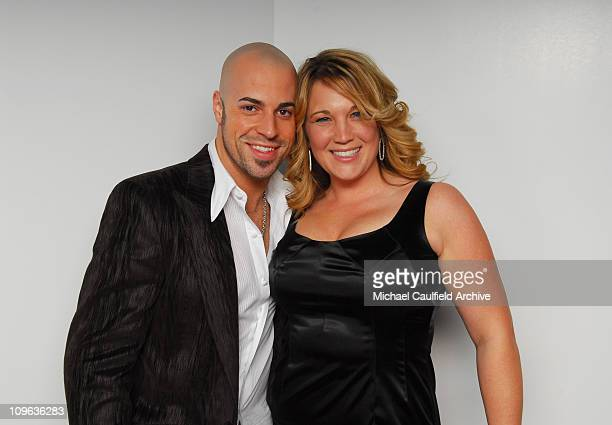Chris Daughtry and wife Deanna Daughtry *EXCLUSIVE*