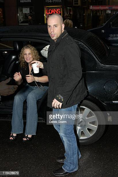 Chris Daughtry and wife Deanna during Chris Daughtry and Serena Williams Visit The Today Show May 16 2006 at NBC Studios Rockefeller Center in New...