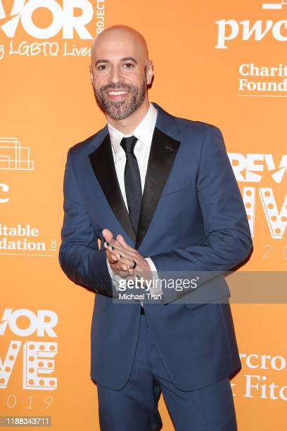 Chris Daughtry arrives to the 2019 TrevorLive Los Angeles Gala held at The Beverly Hilton Hotel on November 17 2019 in Beverly Hills California