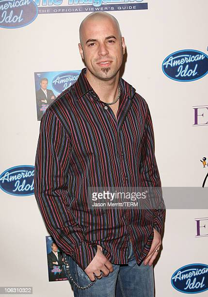 Chris Daughtry during 'American Idol' Season 5 Launch Party at Cinespace in Hollywood California United States
