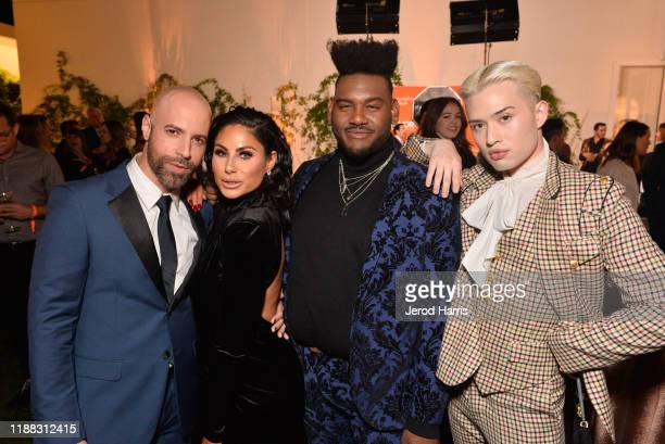 Chris Daughtry Mikalah Gordon Chester Lockhart and Ryan Mitchell attend The Trevor Project's TrevorLIVE LA 2019 at The Beverly Hilton Hotel on...