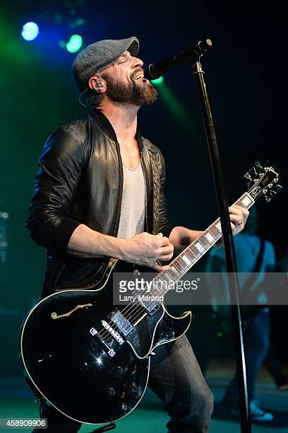 Chris Daughtry performs at Pompano Beach Amphitheatre on November 12 2014 in Pompano Beach Florida