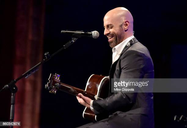 Chris Daughtry performs onstage at the Global Lyme Alliance third annual New York City Gala on October 11 2017 in New York City