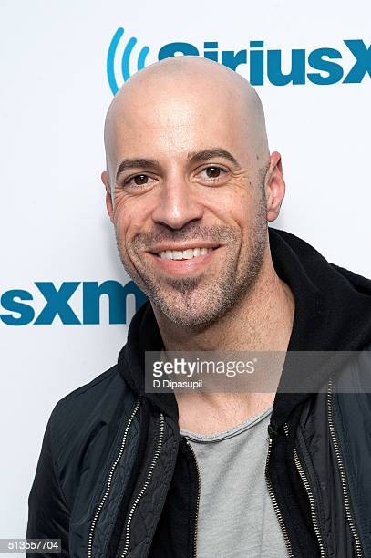 Chris Daughtry visits SiriusXM Studios on March 3 2016 in New York City