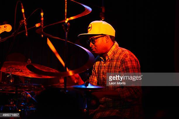 Chris Dave performs on stage during Melbourne International Jazz Festival at Bennetts Lane Jazz Club on June 1 2014 in Melbourne Australia