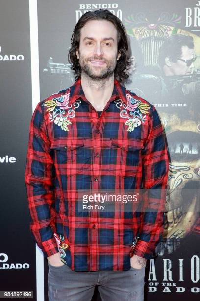 Chris D'Elia attends the premiere of Columbia Pictures' Sicario Day Of The Soldado at Regency Village Theatre on June 26 2018 in Westwood California