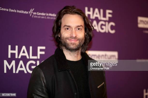 Chris D'Elia attends the premiere of Momentum Pictures' Half Magic at The London West Hollywood on February 21 2018 in West Hollywood California