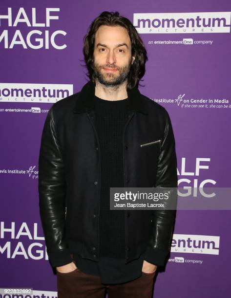 Chris D'Elia attends the premiere of Momentum Pictures' 'Half Magic' at The London West Hollywood on February 21 2018 in West Hollywood California