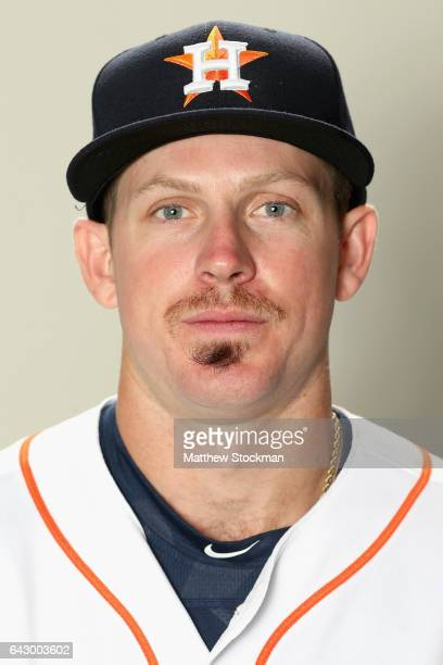 Chris Devenski of the Houston Astros poses for a portrait during Houston Astros Photo Day at The Ballpark of the Palm Beaches on February 19 2017 in...