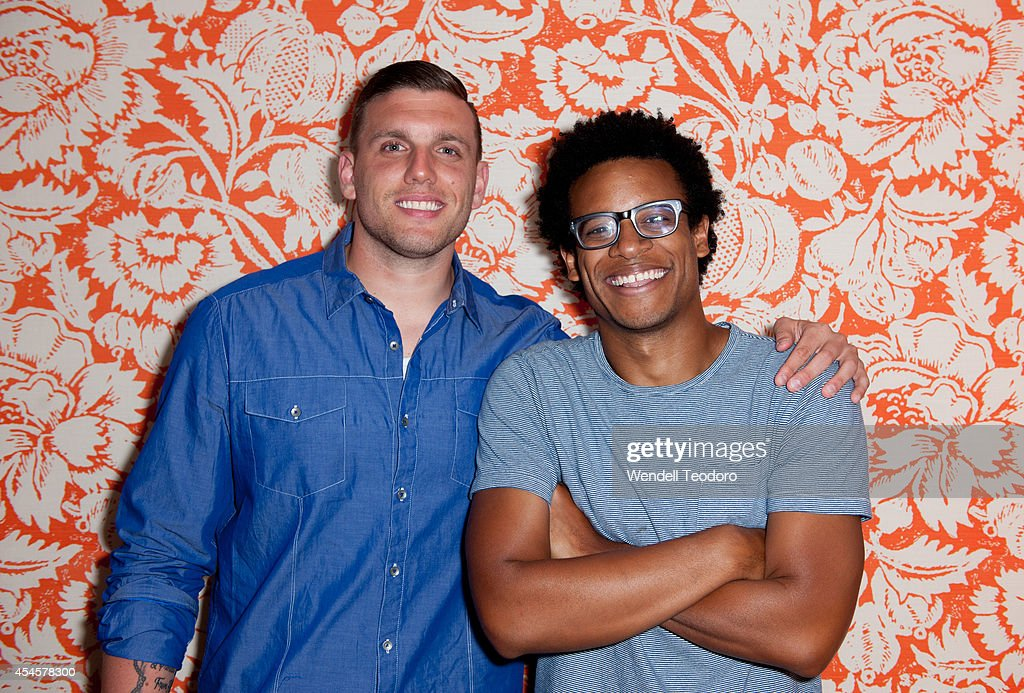 Chris DiStefano and Jordan Carlos attends the 'Secret Guide To Fabulous' Premiere Party at the Crosby Hotel on September 3, 2014 in New York City.