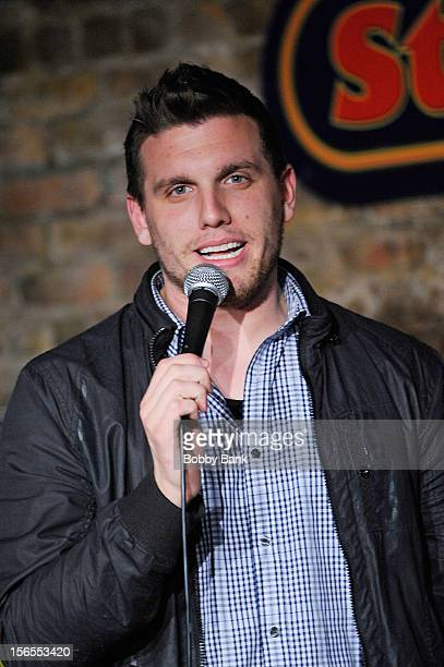 Chris Distefano performs at The Stress Factory Comedy Club on November 16 2012 in New Brunswick New Jersey