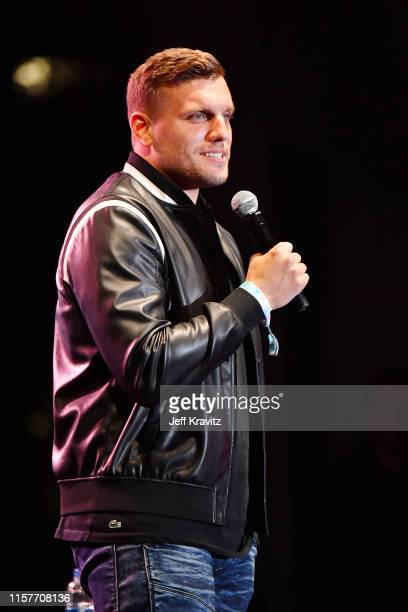 Chris Distefano performs onstage at the 2019 Clusterfest on June 22 2019 in San Francisco California