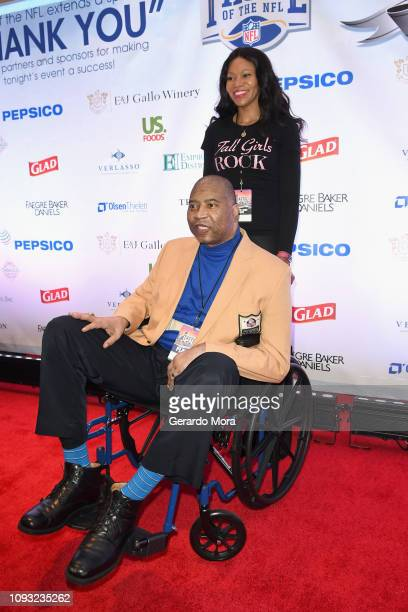 Chris Doleman attends the Taste of The NFL 28th anniversary celebration of Party With A Purpose at The Cobb Galleria Centre on February 2 2019 in...