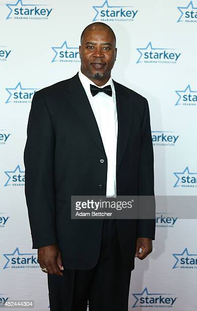 Chris Doleman walks the red carpet at the 2014 Starkey Hearing Foundation So The World May Hear Gala at the St Paul RiverCentre on July 20 2014 in St...