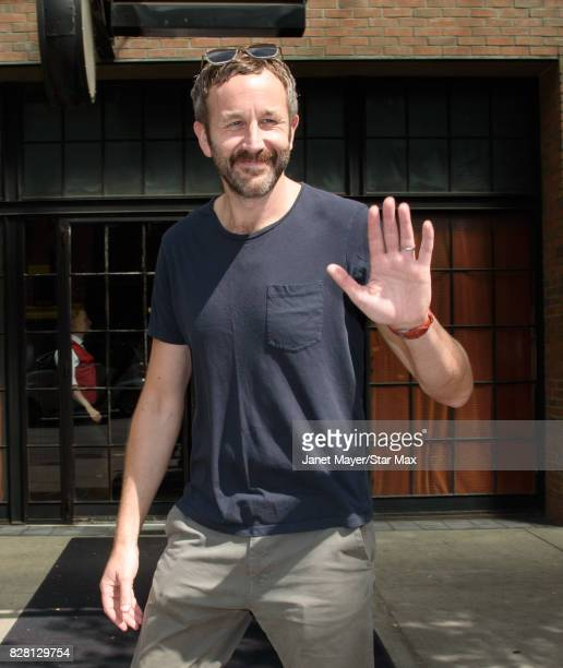 Chris Dowd s is seen on August 8 2017 in New York City